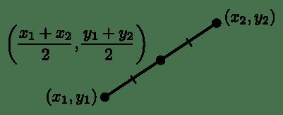 midpoint formula